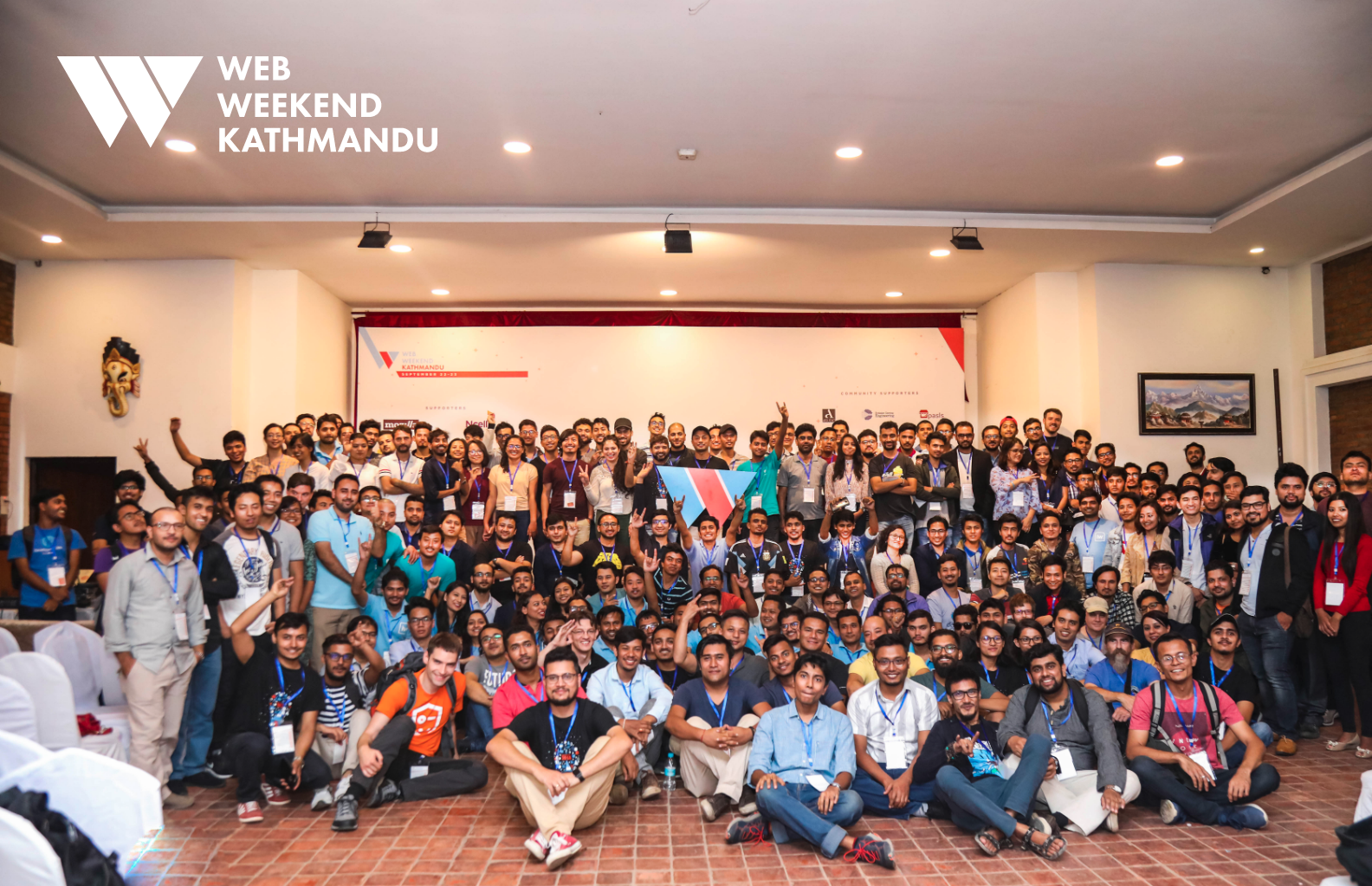 Web Weekend Kathmandu Group Picture